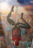 The Spectacular SPIDER-GIRL 'Sunset City' Series 2 by PaulSuttonArt
