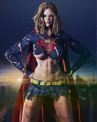 Free Download - Supergirl 'Dark City' Series by PaulSuttonArt