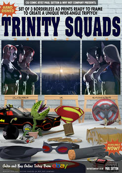 The Trinity Superheroine Squad