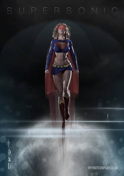 Supersonic Supergirl