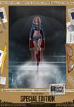 Supergirl 'Supersonic' SE Comic Print