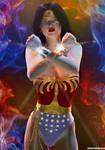Wonder Woman Bulletproof ... Retro TV by PaulSuttonArt