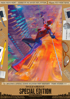 the SPECTACULAR SPIDER-GIRL I Comic Print