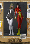 Julia Carpenter and Jessica Drew Spider-Woman I