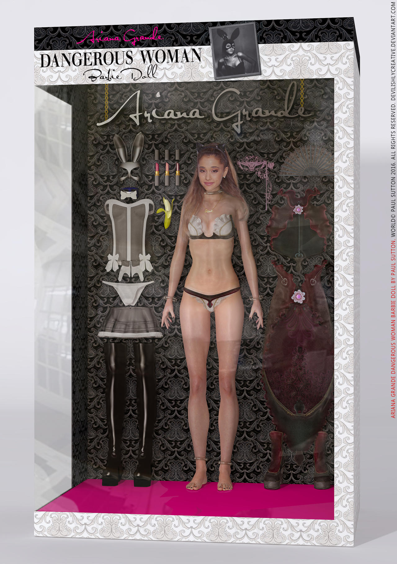 Ariana Grande 'Dangerous Woman' Barbie Doll by ...