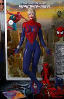 Spider-Girl II 'Teenage Bedroom Heroines' Series by PaulSuttonArt