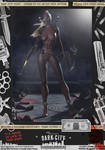 Lady Deadpool 'Dark City' Var. Signed Comic Print