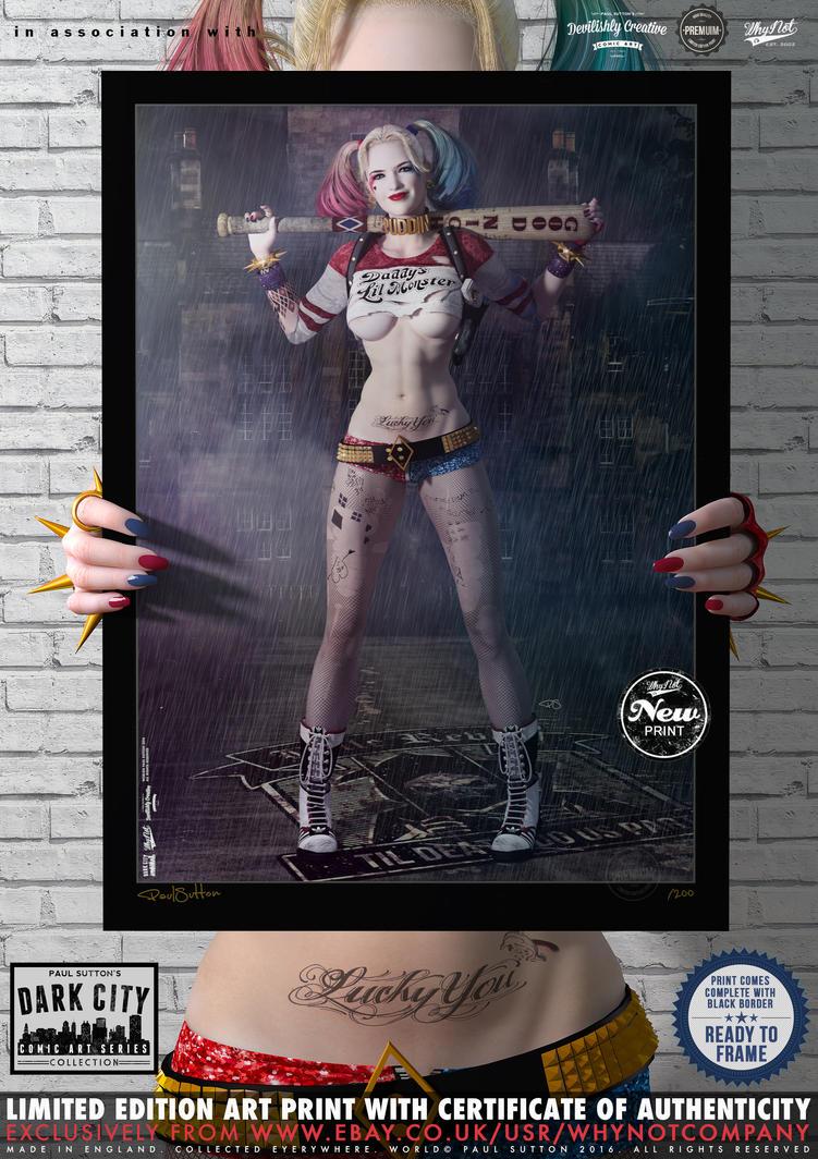 Harley Quinn - Suicide Squad 'Dark City' Series by DevilishlyCreative