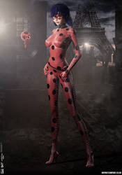 Miraculous Ladybug 'Dark City' Series by PaulSuttonArt
