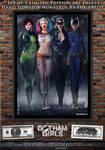 Gotham Girls Comic Series, Evolution Cover Art