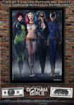 Gotham Girls Comic Series, Evolution Cover Art