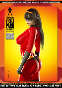 The Incredible Violet Parr - Booty Call