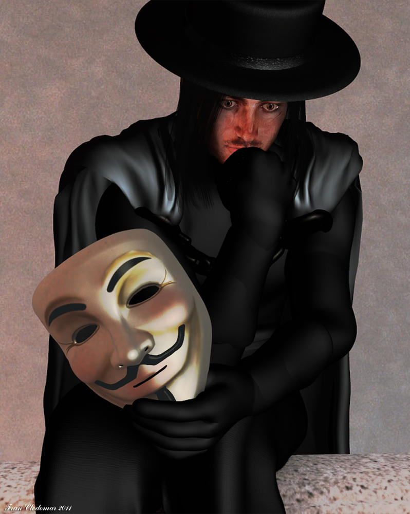 V 4 Vendetta Unmasked Revised by Shango-ThunderStones on ...