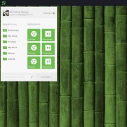 Bamboos Start Menu! by kemoboydesign