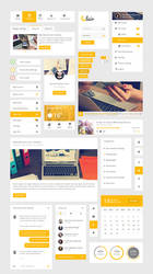 Clair -  Modern Useful User Interface by kemoboydesign