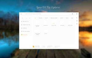 Luna File Explorer (half an hour of work) by kemoboydesign