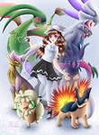 Pokemon Team by Fuulan