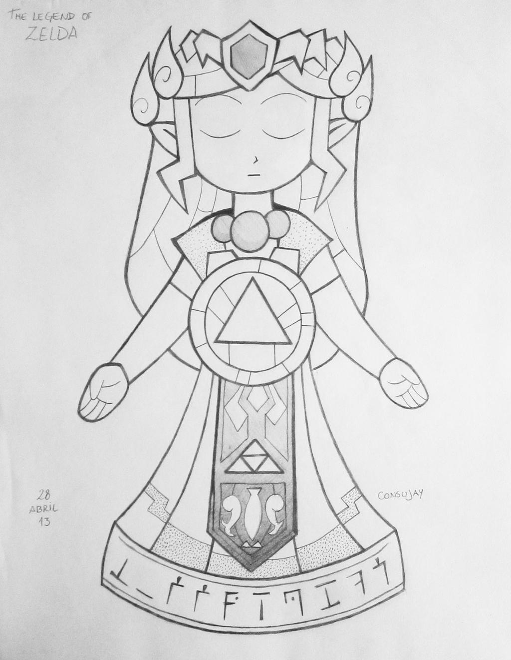 minish cap coloring pages - photo#6