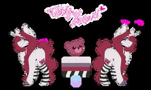 [OC] Teddy Heart 3.0 by SugaryNoodle