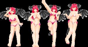 .: Koakuma SwimSuit :.