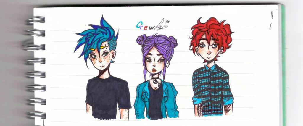 Crew by SyrenaDammy