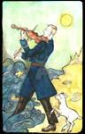 Heydrich tarot: Fool