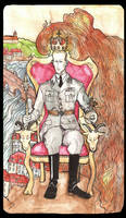 Heydrich tarot: Emperor