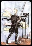 Heydrich Tarot: Page of Swords