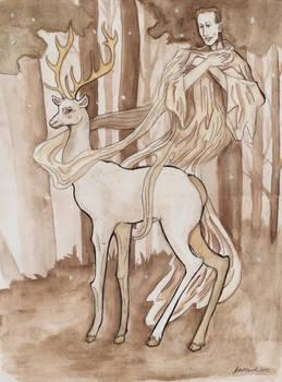 Zlota Baba Heydrich story White stag