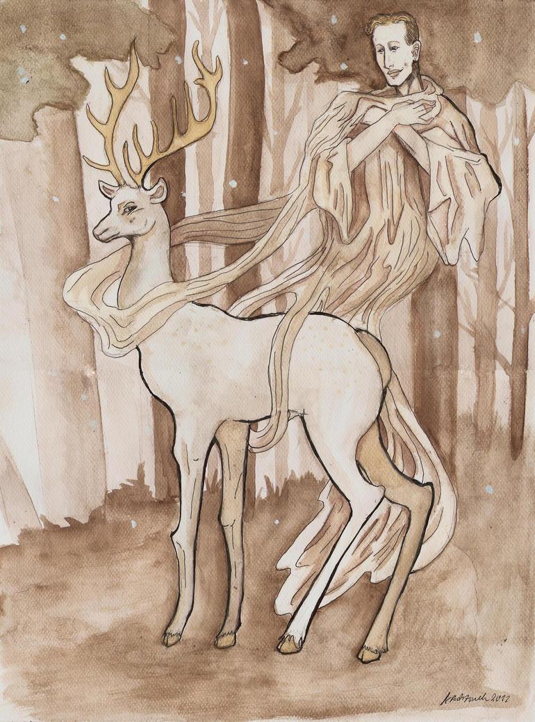 Zlota Baba Heydrich story White stag by hello-heydi