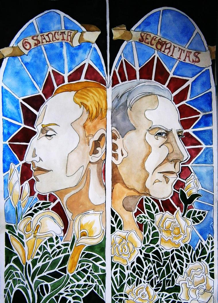 O Sancta Securitas! - Heydrich and Canaris by hello-heydi