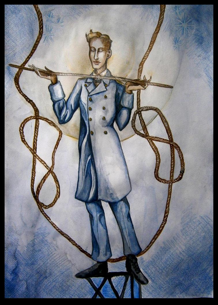 Alphabet of the Goddess - Rope Dancer by hello-heydi