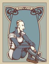 Leierkasten - Beast - Heydrich - Art Nouveau by hello-heydi