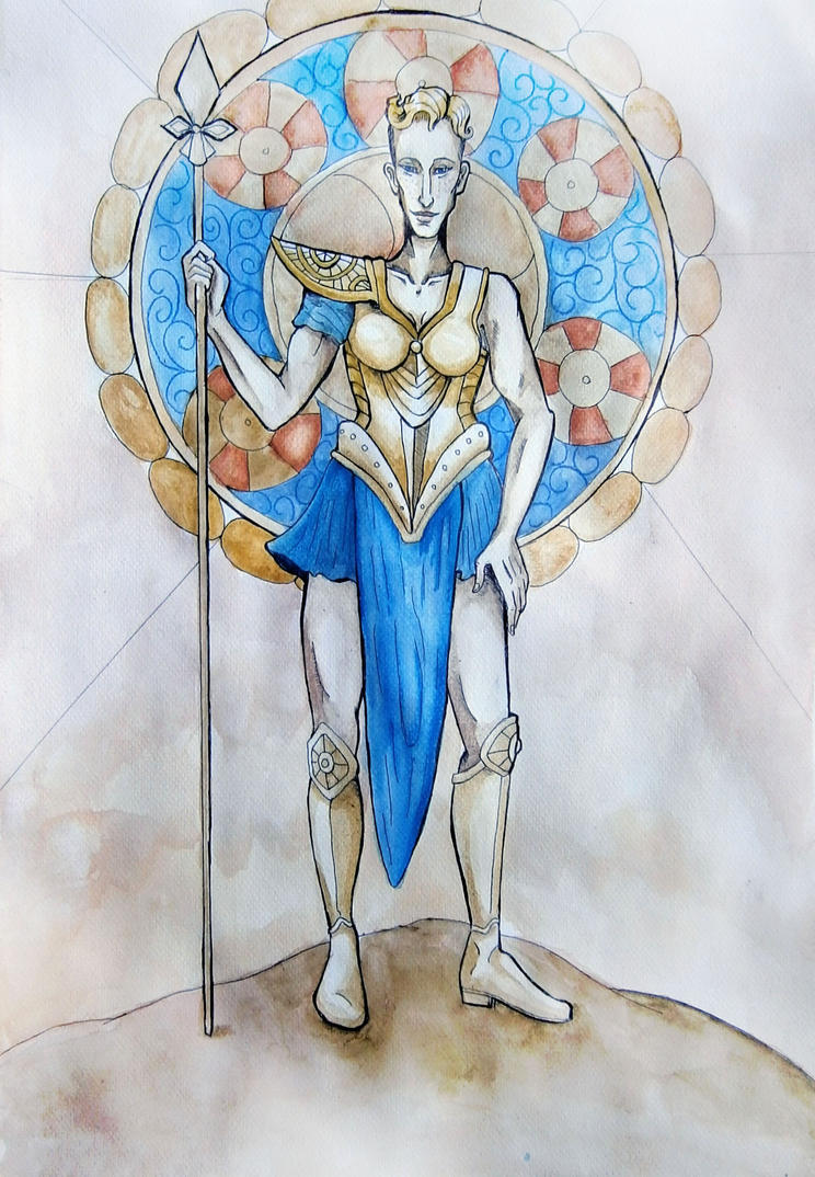 Hildr the Valkyrie by hello-heydi