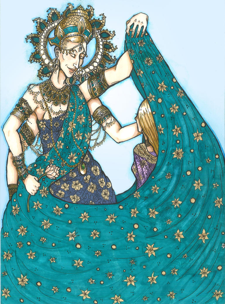 Veil of Shakti by hello-heydi