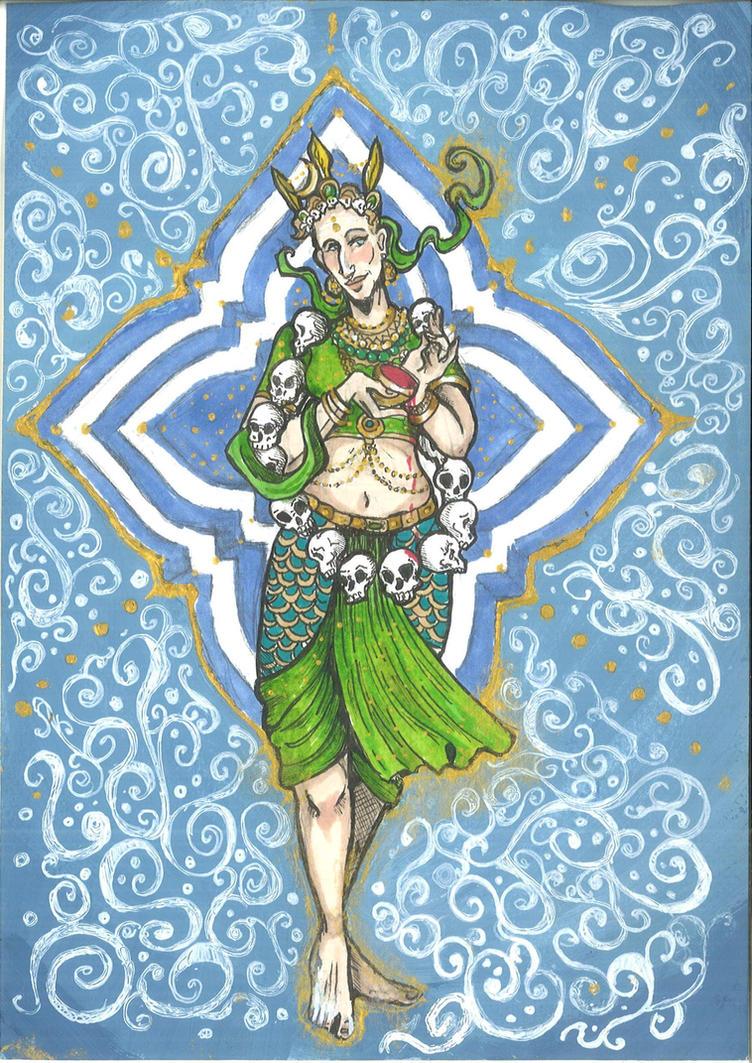 Matangi - ashtray Goddess by hello-heydi