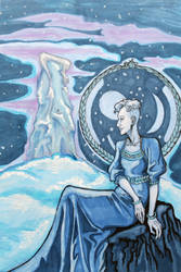 Goddess of Nebra by hello-heydi