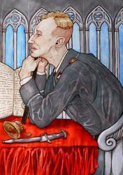 Heydrich Tarot ver 2.0 - The Magician by hello-heydi