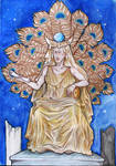 Heydrich Tarot ver 2.0 - The High Priestess by hello-heydi