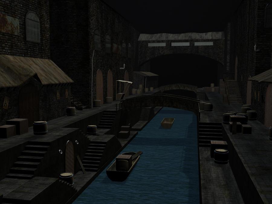 3D street Maya