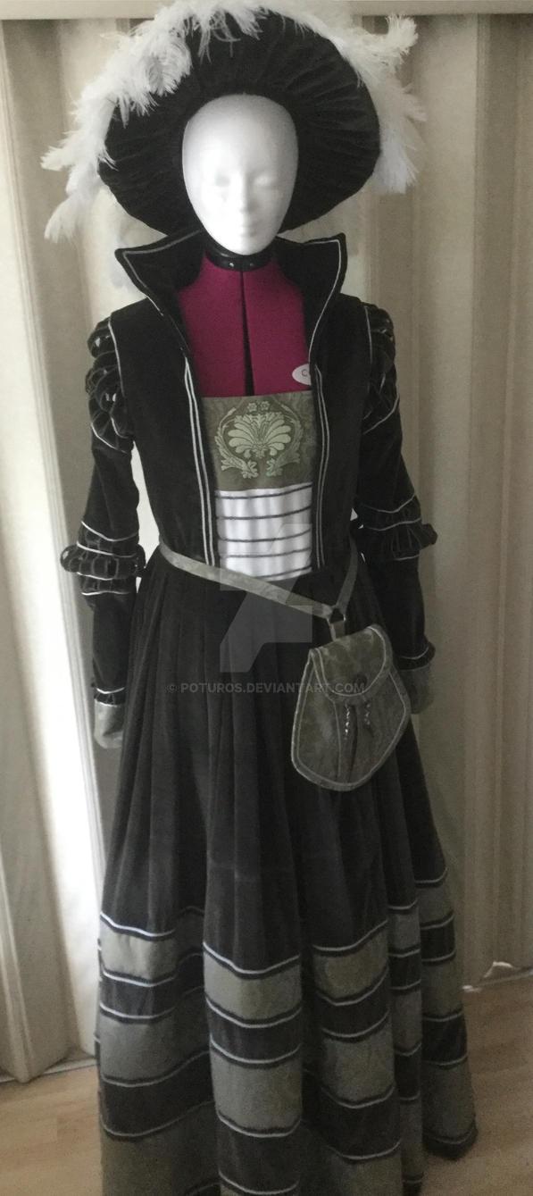 Cranach Gown - Update by Poturos on DeviantArt
