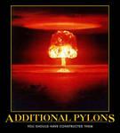 additional pylons....