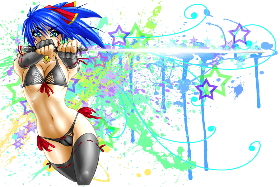 Mikka - Splatter Strike! by RoninDude