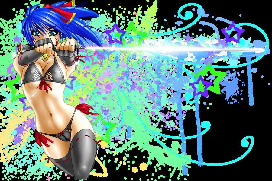 Mikka - Splatter Strike! by RoninDude