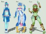 Starbound Races - Females