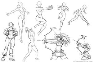 Pose Practice 2014 May 28 by RoninDude