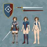 Elven Fighter - Character Sheet