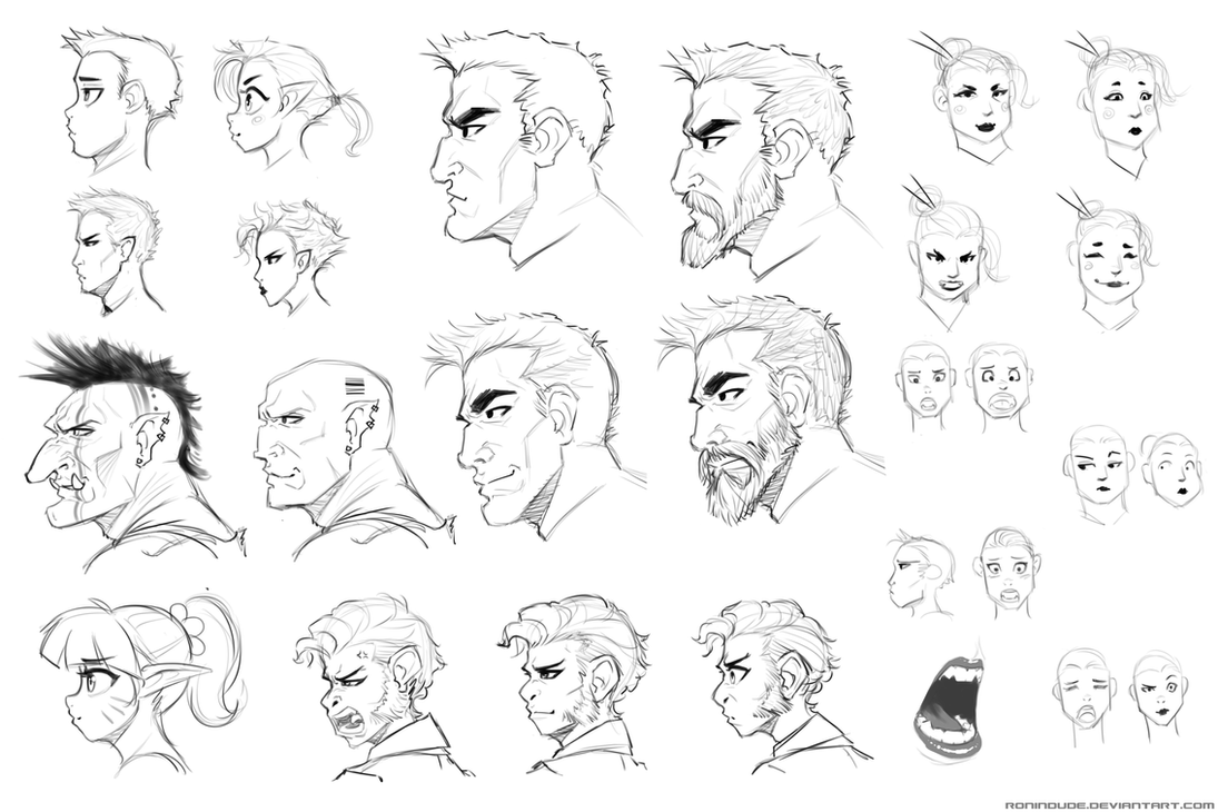 It is a photo of Juicy Drawing Expressions Practice