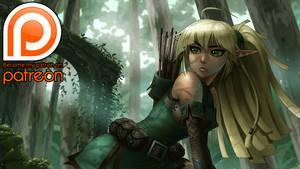 Patreon! Elven Archer 1 Teaser