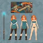 Elven Mage - Character Sheet